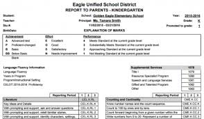 report card template standard based grade report card templates aeries help