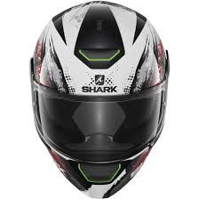 shark motocross helmets shark skwal switch riders white black red helmet motocard
