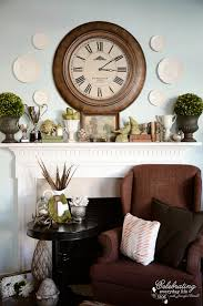 My November Mantel How to Decorate a Mantel series}