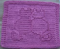 free knit dishcloth patterns snuggling cats knit dishcloth