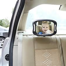 baby car mirror with light baby car mirror led light view child in rear facing car seat with