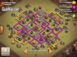 Clash Of Clans Maps Th8 Clan War Base Clash Of Clans Wiki