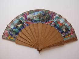 the chinese mandarin fan part 1 antique fans