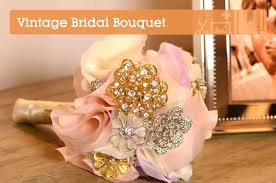 how to make bridal bouquets create an heirloom bridal bouquet using vintage brooches