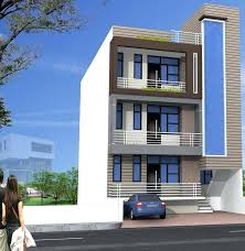 small 3 story house plans 3 story apartment building plans 5 storied building design