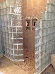 Shower Wall Ideas by Bathroom Glass Block Shower Design Ideas Glass Block Shower