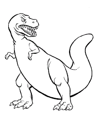 dinosaur coloring pages 4 coloring kids