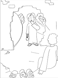 jesus resurrection tomb coloring page special offers
