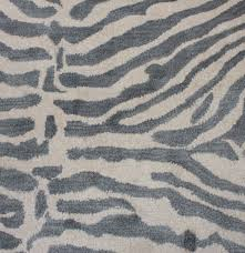 tufted zebra stripe area rug ebth