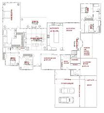 Ranch Floor Plans Apartments H Shaped House Plans H Shaped House Plans U201a Small H