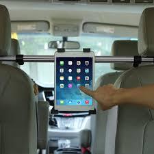 support tablette voiture entre 2 sieges support pc tablet pour siège arrière voiture appuie tête multi