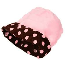 Cuddle Cup Dog Bed Cuddle Cup Dog Bed By Susan Lanci Chocolate And Pink Polka Dots