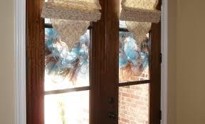 half glass door curtains door beautiful front door window black stained wooden single