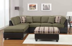 Green Leather Sectional Sofa Great Green L Shaped Sofa Espresso Leather Sectional Sofa With