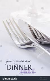 Kitchen Forks And Knives Restaurant Menu Series Copyspace Fork Knife Stock Photo 79041328