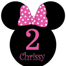 custom minnie mouse birthday party invitations personalized