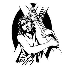 pictures of black jesus on the cross free download clip art