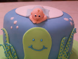 ocean themed baby shower cake cupcakes beth ann u0027s