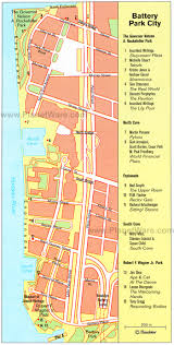 Nyc City Map Battery Park City Map Battery Park City New York U2022 Mappery
