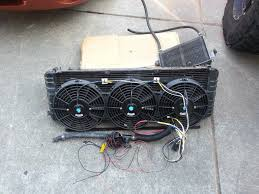 electric jeep conversion csf 3 row radiator dirtbound electric fan conversion explorer