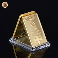 where to buy gold foil wr 999 gold foil bullion bar collectible deutsche 1 oz iron metal