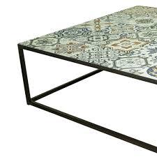 Wohnzimmertisch Metallgestell Neu Design Couchtisch Ibiza Metallgestell Tischplatte Mosaik