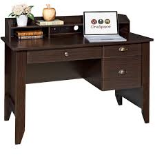 amazon com onespace 50 1617 executive desk with hutch usb and