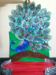 peacock craft ideas peacock peacock feather craft ideas