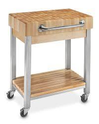 stainless steel kitchen island cart kitchen islands carts williams sonoma