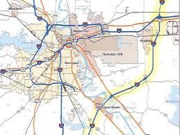 louisiana highway map push to progress on i 69 underway