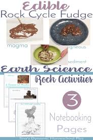 Types Of Rocks 48 Best Earth Sciences For Kids Images On Pinterest Science