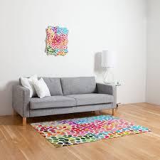 amazon com deny designs garima dhawan rain 6 woven rug 4 by 6