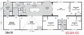 trailer floor plans single wide trailer floor plans unique cavco homes floor plan