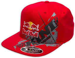 motocross helmet red bull kini red bull chopped casual clothing caps hats black kini red