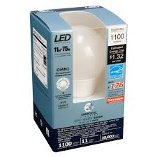 a19 led bulb 11 watt dimmable 75w equiv 1100 lumens by energetic