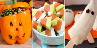 30 healthy halloween snacks that still taste ghoulishly good