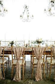 diy wedding chair covers wedding chair cover idea beautiful blush sequin chair covers for a