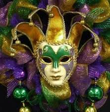 mardigras masks venetian masquerade mardi gras party mask green gold new