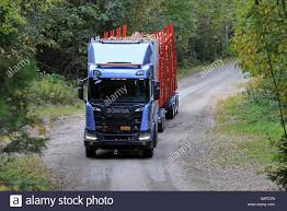 B Otisch Schmal Commercial Logging Truck Stockfotos U0026 Commercial Logging Truck