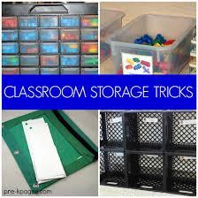 20 classroom storage ideas