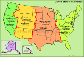 united states map with state names and time zones usa time zones new york map of us time zones with the state names