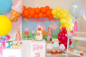 peppa pig decorations peppa pig theme birthday decorations joe zabaneh photography