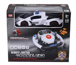 remote control police car with lights and siren amazon com remote control police car 4d motion gravity and