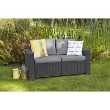 patio loveseats you u0027ll love wayfair