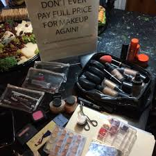 make up artist supplies a at the studio fundraiser for whole planet foundation
