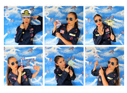 themed photo booth top gun inspired fighter pilot navy photo booth props