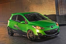 mazda 2 mazda2 turbo with mazdaspeed3 engine and 3dcarbon concepts hit