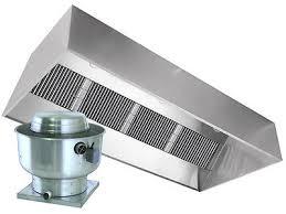 restaurant hood exhaust fan restaurant hood with exhaust fan 6ft exhaust only vent hood for