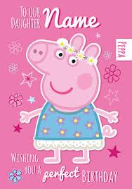 peppa pig birthday birthday cards peppa pig cards funky pigeon