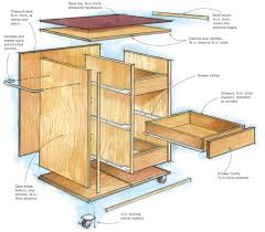 Free Woodworking Plans For Display Cabinets by Roll Away Workshop Startwoodworking Com